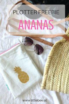 Ananas für den Sommer - Plotter Freebie Ananas Freebie als gratis download