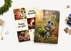 Christmas Card Template/Holiday Greeting by 961TEMPLATEBOUTIQUE