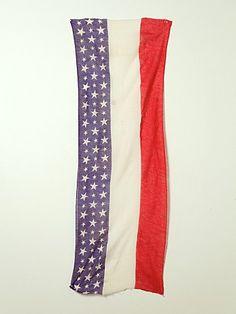 Free People Vintage 48 Star WWI American Flag