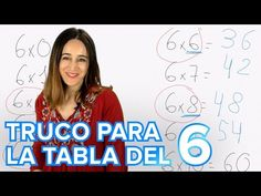 Truco de la tabla de multiplicar del 6 para enseñar a los niños