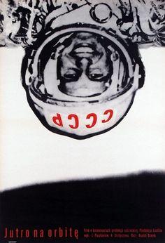 tomorrow in orbit - a film poster / jutro na orbitę - plakat filmowy Polish Movie Posters, Polish Films, Film Posters, Vintage Movies, Vintage Posters, Planet Sun, War Dogs, Space Race, Communication Art