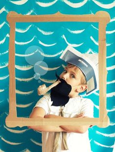 13 DIY Photo Booth Ideas for Your Kid's Next Party Cute Pirate DIY Photobooth! Deco Pirate, Pirate Day, Pirate Birthday, Pirate Theme, Lego Birthday, Pirate Photo Booth, Diy Photo Booth Props, Diy Photobooth, Nautical Photo Booth