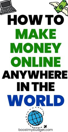 how to make money online internationally - earn money online and work remotely from anywhere in the world! Make Money Fast Online, Ways To Earn Money, Earn Money From Home, Make Money Blogging, Make Money Today, Way To Make Money, Money Tips, Money Saving Tips, How To Make