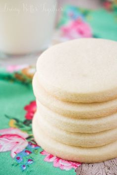 These Classic Sugar Cookies are made with ingredients you already have in the house and are perfect for decorating or eating plain!