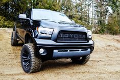 BPF Tundra Raptor Style Mesh and Lettering Jacked Up Trucks, Big Trucks, Chevy Trucks, Pickup Trucks, Lifted Tundra, Tundra Truck, Ford Raptor Negro, 2008 Toyota Tundra, Toyota Tacoma