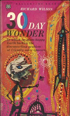 Check out your mind, with awesomely trippy 1960s and 1970s SF book covers! Cover by Richard Powers.