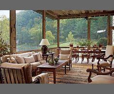 Architectural Digest ~ porch!!!