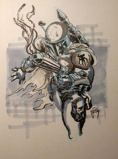 baddest bounty hunter in the galaxy by diablodesigns.deviantart.com on @deviantART