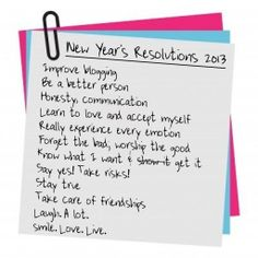 beauty new years resolution | Miss Kasia: NEW YEAR'S RESOLUTIONS 2013