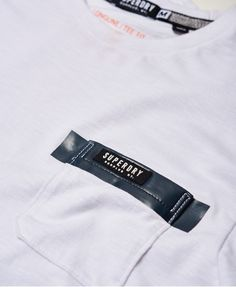 Superdry Surplus Goods Longline Pocket T-shirt  White