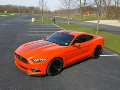 My S550 Mustang. Already a few modifications.