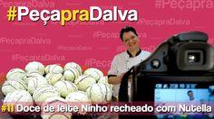 #PeçapraDalva #11 - Doce de leite Ninho recheado com Nutella - Raquel Ma...