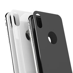 iPhone X Back Protector Glass Tempered Glass Full Cover Edge Back Cover Protection - Zaluxis Shop Best Screen Protector, Tempered Glass Screen Protector, Smartphone, Panzer, Iphone, Display, Mobile Phones, Times, Madness