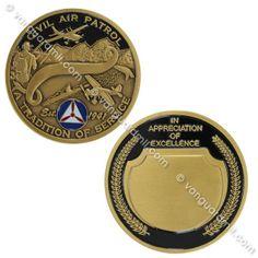 Civil Air Patrol Coin: CAP In Appreciation of Excellence