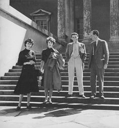Anne Tree, Babe Paley, David Somerset, and Michael Tree