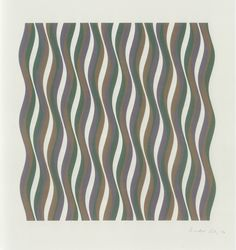 Coloured greys - Screenprint in colours, 1972 Signed in pencil and numbered from the edition of 125. Printed by Kelpra Studio, London. Published by the artist.   (Schubert 16)  74.4 × 69.7 cm