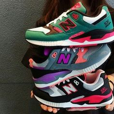 Image via We Heart It #fashion #inspiration #newbalance #shoes #sneakers #style