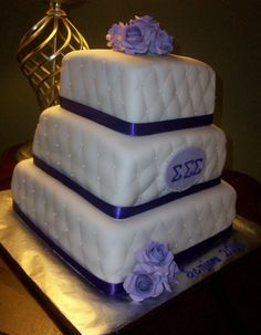 Another cake made for a sorority event