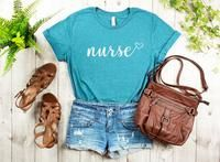 Nurse love t-shirt California Girl Style, Nurse Love, Love T Shirt, Perfect Fit, Long Sleeve Shirts, Graphic Sweatshirt, Sweatpants, Unisex, Tees