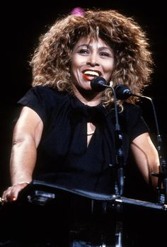 Tina Turner attends the 1989 Rock N Roll Hall of Fame Induction Ceremony circa 1989 in New York City