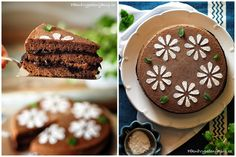 Povidlový dort Budget Meals, Party Cakes, Tiramisu, Dining, Cooking, Ethnic Recipes, Blog, Shower Cakes, Kitchen