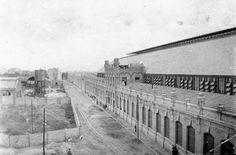 Estación del Norte y la calle Alicante. Década de los 20. Archivo de Salva Monmeneu. - La Valencia desaparecida: febrero 2014