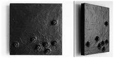 """""""Clay on Wood"""" series by Junko Yamamoto / Small Wonders National Juried Exhibition, MD"""