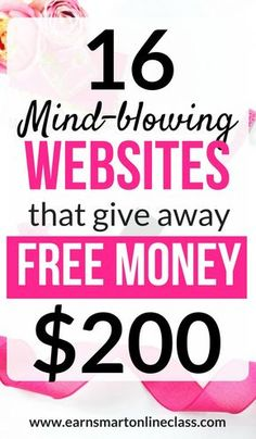 Want to make money fast online? Here are 16 mind-blowing websites that give away free money in sign Make Money Fast Online, Earn Money From Home, Make Money Blogging, Money Tips, Way To Make Money, How To Earn Money For Teens, Free Money Now, Money Today, Make Money Writing
