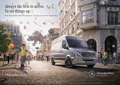 Mercedes Sprinter with Martijn Oort - CGI on Behance
