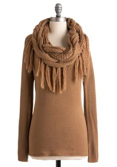 Toasty Beverage Sweater.  #modcloth.  Retailed $92.99.  Paid $27.99.  Cabin Fever Sale 2012