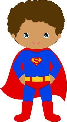 Superman Characters, Cartoon Characters, Black Family Cartoon, Jamaican Art, Hero Of The Day, Preschool Classroom Decor, Hero Crafts, Superman Artwork, Superman Party