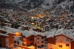 Zermatt in Switzerland. Skiing Anyone?
