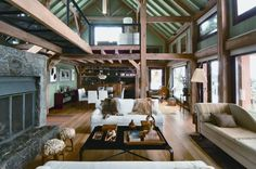 The interior design of this loft in Patagonia is really beautiful. Created Loft in Patagonia by Willie Sanchez and Marcela Escalada & Pablo Velasco Suárez as the architect,