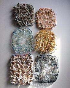 Knitart #contemporaryart #contemporaryknitting #mixedmedia #textileart #abstractart #textiledesign #artgallery #knitart #knitting #artbyingerodgaard #artwork #artofinstagram #texture #texile #structure #gallery #kunst #