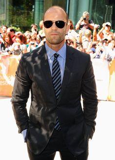 Jason Stathem, Frank Martin, Colin Farrell, The Expendables, Vanity Fair Oscar Party, International Film Festival, Jared Leto, Beautiful People, Suit Jacket