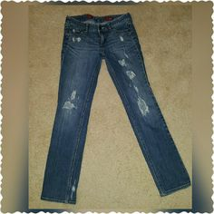 Selling this Edgy Express Jeans in my Poshmark closet! My username is: laura62484. #shopmycloset #poshmark #fashion #shopping #style #forsale #Express #Denim