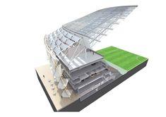 Hazza Bin Zayed Stadium / Pattern Design