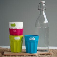 Partybecher-Set aus Pflanzenzucker - 100% biologisch abbaubar. von Zuperzozial - bei Avocado Store günstig kaufen