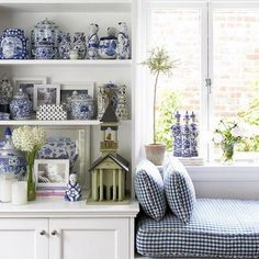 New obsession : Blue and white ginger jars