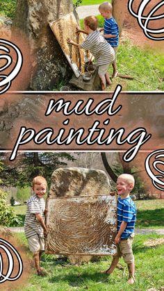 Nature Activities, Art Activities For Kids, Sensory Activities, Activity Games, Summer Activities, Learning Activities, Art For Kids, Kid Art, Outdoor Learning Spaces