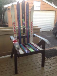 Ski Seat Lawn chair.