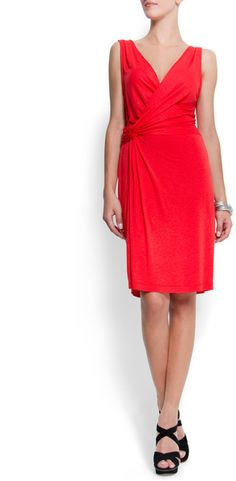 $15.00 Drapped Detailing Dress