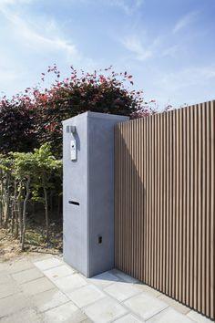 Laissez-vous inspirer | Pouleyn House Main Gates Design, Fence Design, Garden Design, Front Gates, Entrance Gates, Garden Entrance, Driveway Gate, Fence Gate, Fences