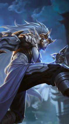 Character Creation, Character Concept, Character Art, Character Design, Liga Legend, Myths & Monsters, Ninja Art, Mobile Legend Wallpaper, Sword Design