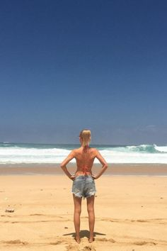 Kate Bosworth Proves There's Nothing Like Wearing Your Denim Cutoffs on the Beach