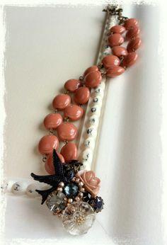 "necklace ""hirondelle"""