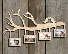Rama Foto Lemn Porumbei Copac Ramura Personalizata Gravura Laser Wood Photo Frame Tree Dove No. Quilling Photo Frames, Wooden Keychain, Laser Cutter Projects, Wood Photo, Beautiful Flowers, Paper Art, Diy And Crafts, Home Decor, Etchings