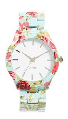 cute floral metal watch  http://rstyle.me/n/w4bbipdpe