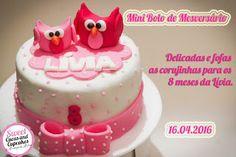Sweet Cucas and Cupcakes by Rosângela Rolim: Fofura de Mesversário