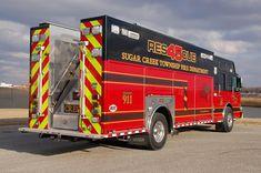 Sugar Creek, IN FD Spartan Metro Star/Marion Walk-Around Heavy Duty Rescue Squad.